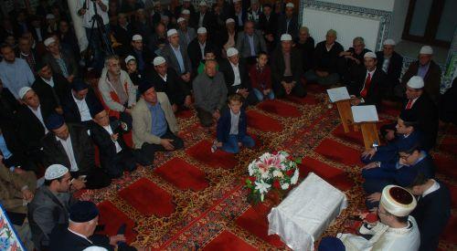 İskeçe Çınar Camii Hafızlık Merasimi