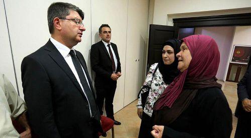 Filistinliler Türk halkının acısını paylaştı