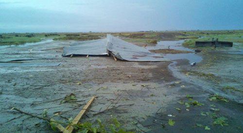 İskeçe Ova Bölgesinde Yağmur Zarar Verdi