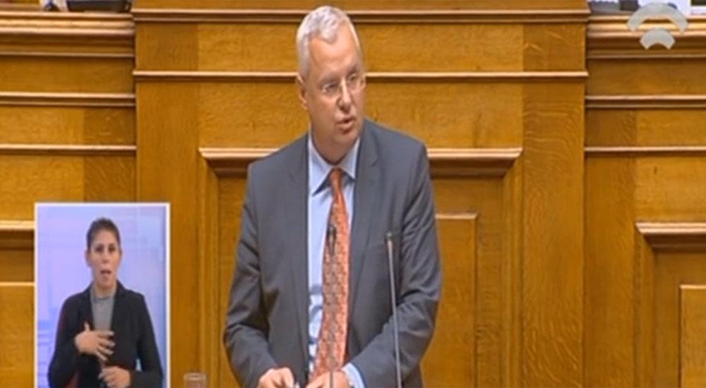 Milletvekili İlhan AHMET meclis genel kurulunda konuştu