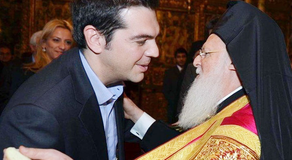 Çipras Patrik Bartholomeos ile Görüştü