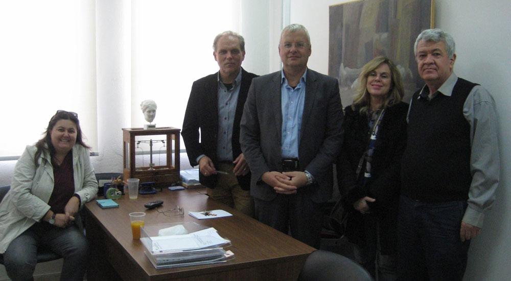 İlhan AHMET, Rodop Eczacılar Birliği'ni ziyaret etti