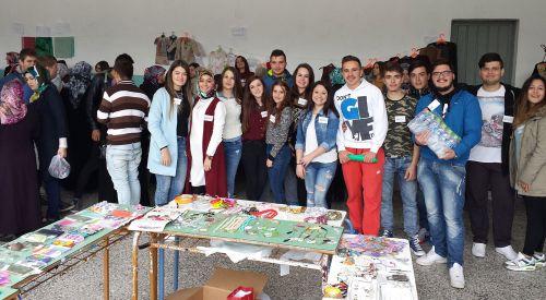 Celal Bayar Azınlık Lisesi'nde Öğrenci Pazarı