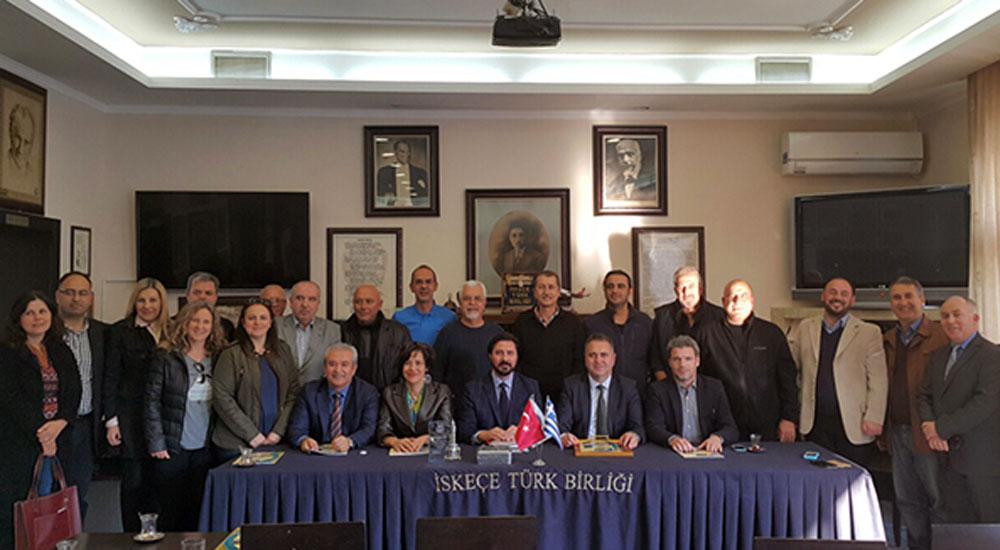 İzmir Barosu Batı Trakya'yı ziyaret etti