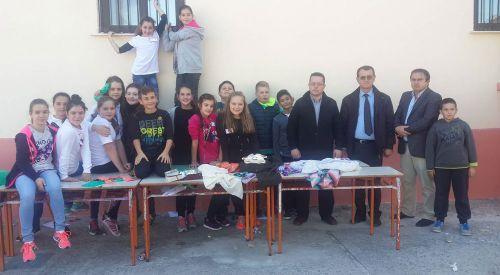 Kırmahalle Azınlık İlkokulu'nda kermes düzenlendi