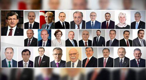 Ανακοινώθηκε το νέο Υπουργικό Συμβούλιο της Τουρκίας