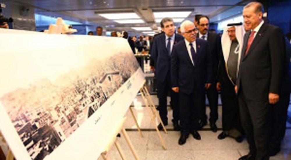 Erdoğan, IRCICA'nın fotoğraf sergisini gezdi