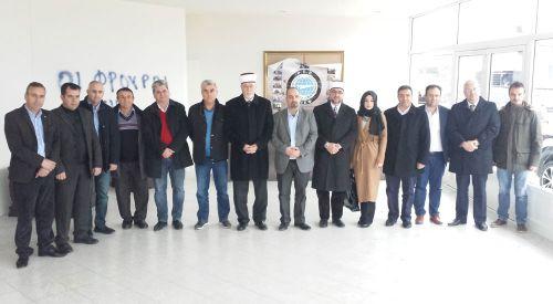 Danışma Kurulu üyeleri DEB Partisi'ni ziyaret etti