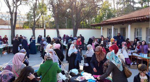 Yenice Mahalle Azınlık İlkokulu'nda kermes düzenlendi