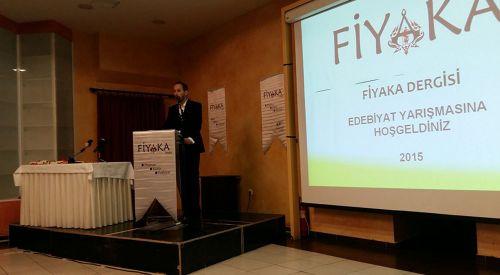 Fiyaka Dergisi Edebiyat Yarışması Ödül Töreni Gerçekleşti