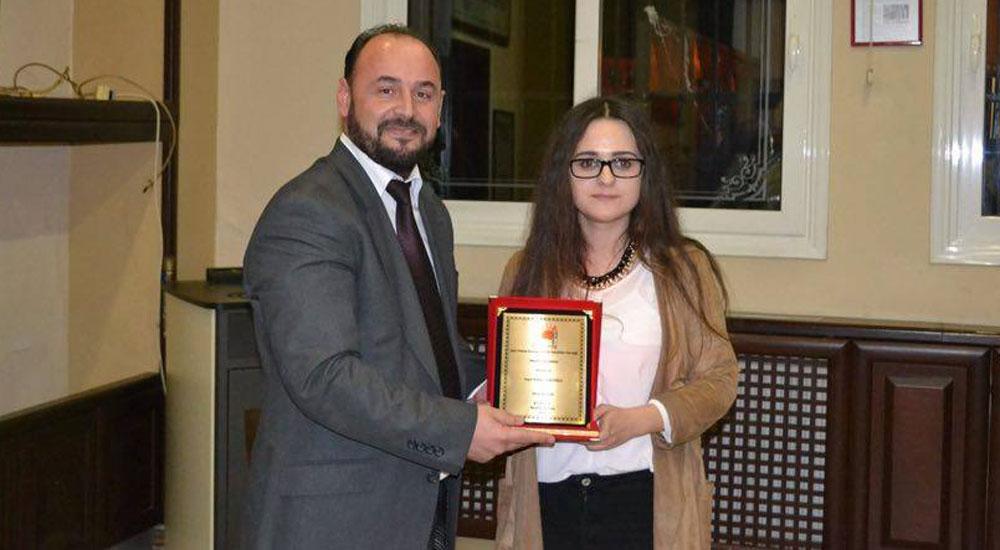 Rafiye Santoğlu proje yarışmasında birinci oldu