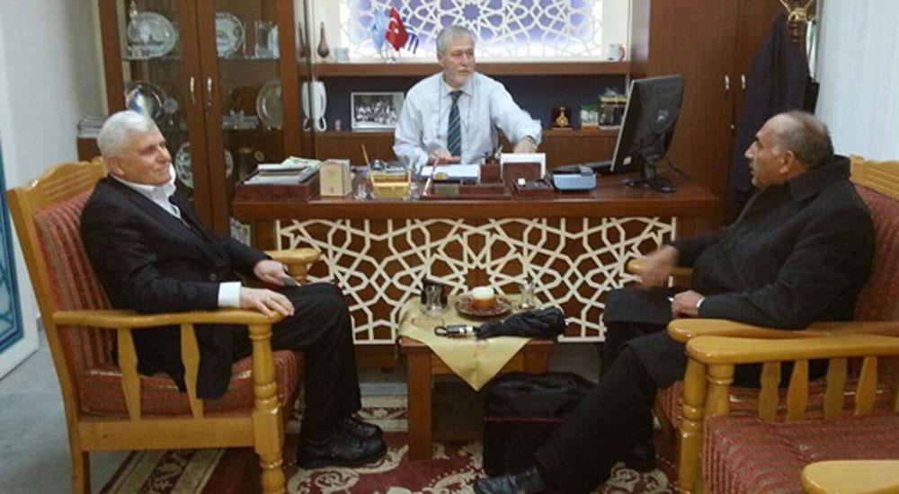 İhlas Vakfı temsilcileri Batı Trakya'da temaslarda bulundu
