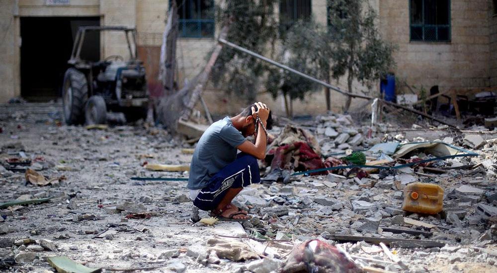 Gazze'de 100 Bin İnsan Evsiz