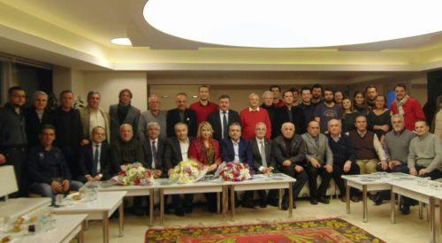 Rumeli Türk Dernekleri Federasyonu Bosna Sancak Derneğini ziyaret etti