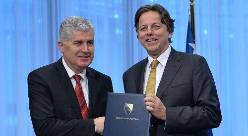 Bosna Hersek AB'ye üyelik başvurusu yaptı
