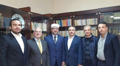 İskeçe Müftüsü Ahmet Mete BTTDD Genel Merkezini Ziyaret Etti