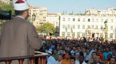 Müslümanlar Atina'da zor durumda