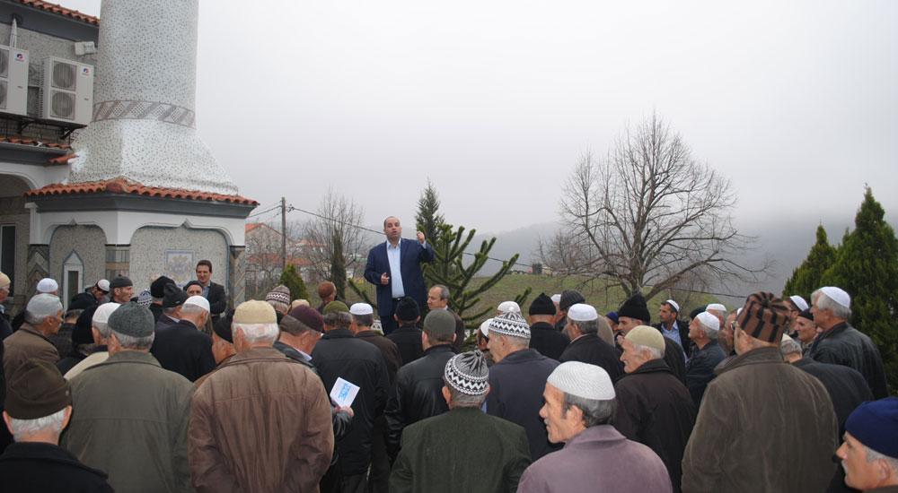 DEB Partisi Mehrikoz Köyünü Ziyaret Etti