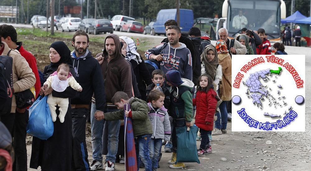 İskeçe Müftülüğü'nden Mülteciler İçin Yardım Kampanyası