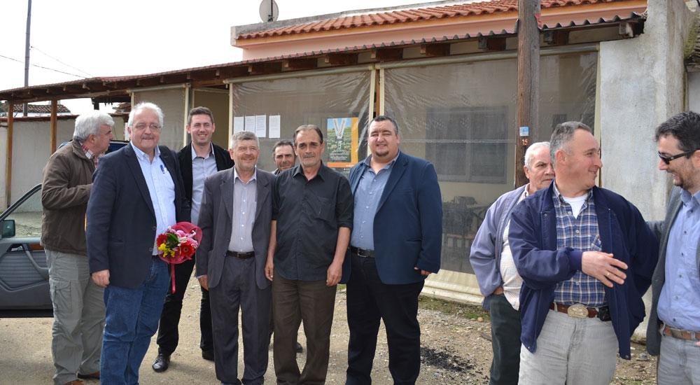 Basırlıköy'ü ilk defa bir AP milletvekili ziyaret etti