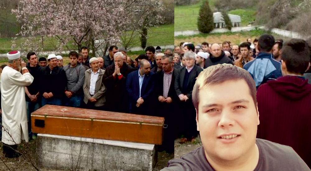 Genç kardeşimiz Cengiz Ahmet yüzlerce kişi tarafından uğurlandı
