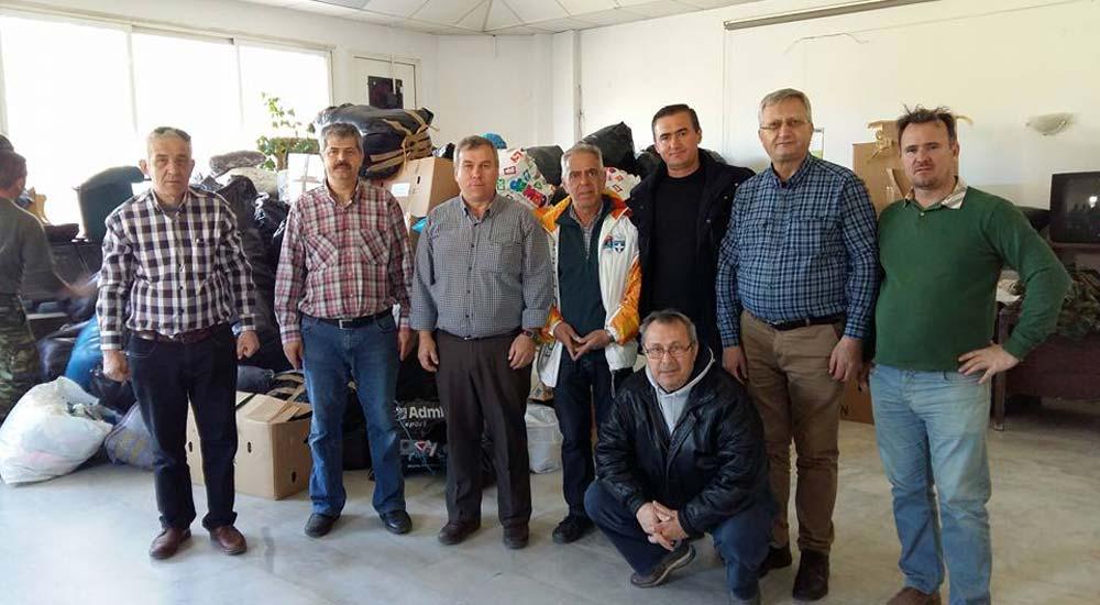 Azınlık Öğrencilerinin Yardımları Suriyeli Göçmenlere Ulaştı
