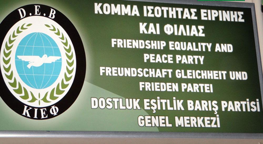 DEB Partisi resmi makamlardan açıklama bekliyor