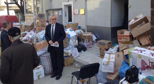 Gümülcine S. Müftülüğü'nün yardım kampanyası sona erdi