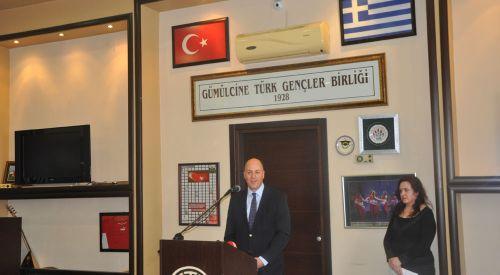 T.C. Atina Büyükelçisi Kerim Uras'ın Batı Trakya Ziyareti