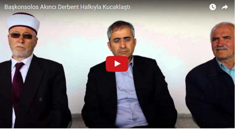Başkonsolos Akıncı Derbent Kermesine Katıldı (VİDEO)