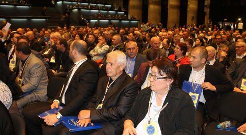 Bulgaristan'da DOST Partisi 1. Kurultayı Sofya'da Yapıldı