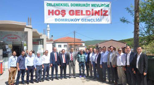 Peygamberimizin Kutlu Doğumu Domruköy'de Coşkuyla Kutlandı