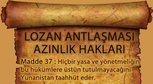 """DEB: """"Lozan'da taahhüt edilen haklarımızı istiyoruz!"""""""