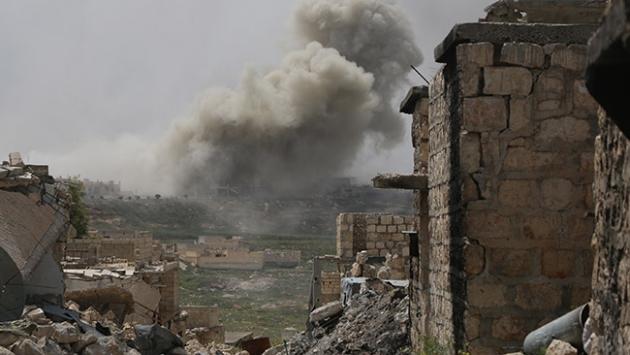 Rusya, Suriye'deki Sivil Bölgeleri Bombalıyor