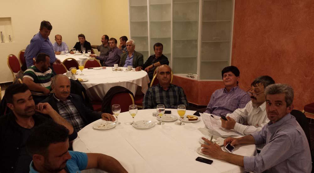 Trakya Tütüncüler Kooperatifi delegeleri bütçeyi görüştü