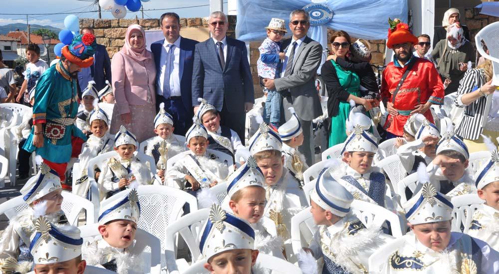 Toplu Sünnet Şöleni Kozlukebir köyünde gerçekleşti