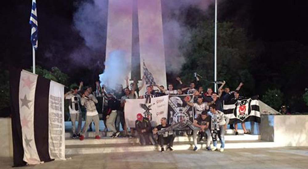 Beşiktaş'ın şampiyonluğu Gümülcine'de de kutlandı