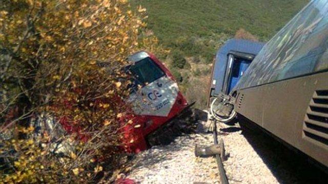 Serez'de İki Tren Çarpıştı: 2 Ölü, 2 Yaralı