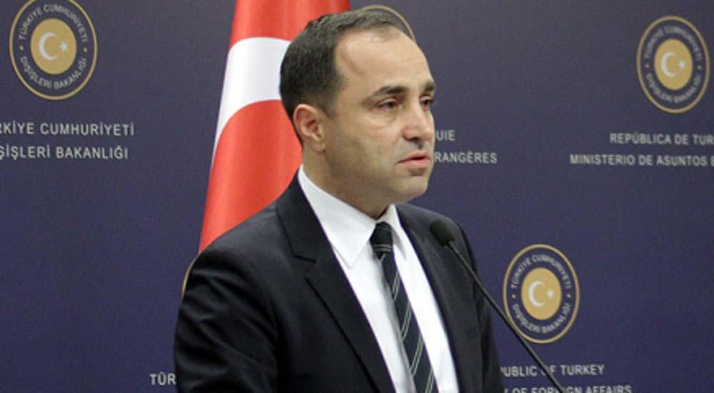 """T.C. Dışişleri Bakanlığı sözcüsü, Yunan yetkililerin """"Müslüman azınlık"""" açıklamalarına cevap verdi"""