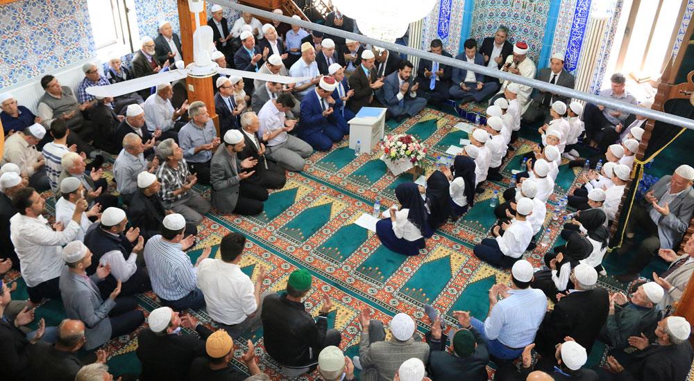 İskeçe'de hafta sonu beş köyde hatim töreni düzenlendi