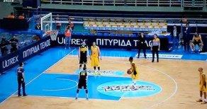 AEK-ARİS Basketbol Maçı 5 Kişiyle Tamamlandı