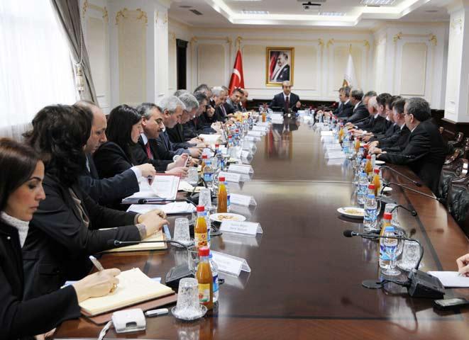 Milletvekillerimizden Türkiye'de önemli temaslar