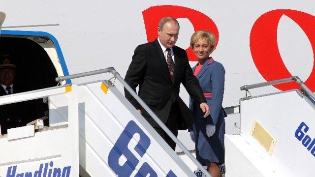 Putin Yunanistan'da