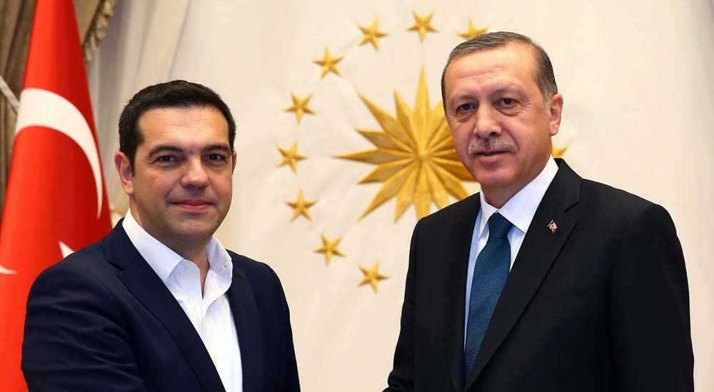 Başbakan Τsipras istedi, Cumhurbaşkanı Erdoğan kabul etti
