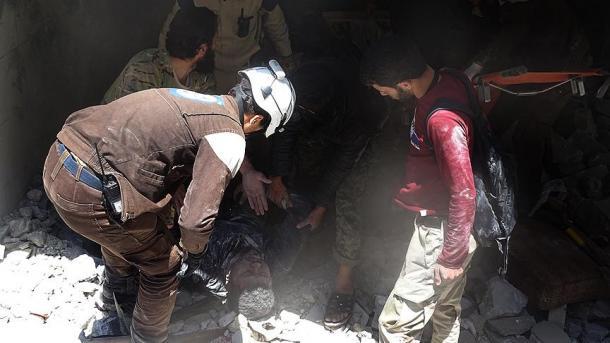 Τα ρωσικά μαχητικά σπέρνουν τον θάνατο στο Χαλέπι