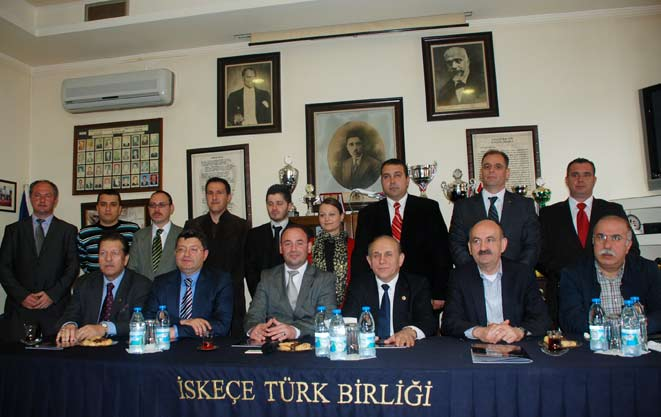 TBMM Anayasa Komisyonu Başkanı Prof. Dr. Burhan Kuzu Batı Trakya temaslarını tamamladı