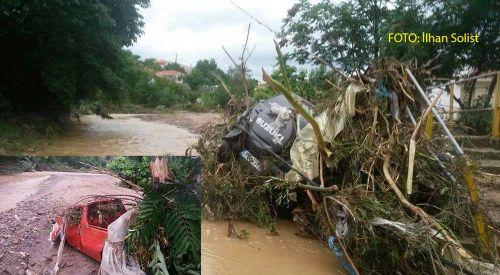 Rodop ilinde yağmur felaketinin faturası ağır oldu