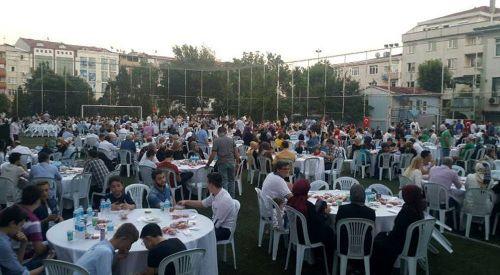 İstanbul'daki kardeşlerimiz iftar sofrasında buluştu