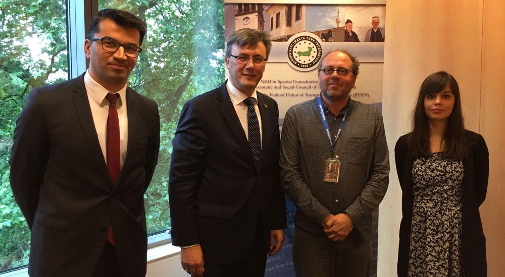 ABTTF'den Brüksel'e çalışma ziyareti
