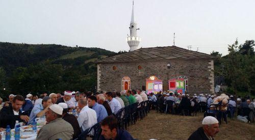 Ürpek köyünde iftar geleneği devam etti